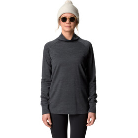 Houdini Campus Crew Maglietta Midlayer Donna, true black